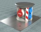 Podlahová krabice STAKOHOME-SV-016nw